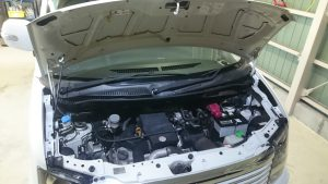 経年車ワゴンR、内装クリーニング、外装研磨&ガラスコーティング施工!